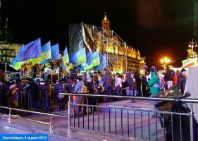 EuroMaidan rallies in Ukraine, Kiev, 2013 20 by mariakovalchuk