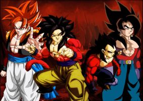 Super Saiyan 4 Powerfull by Dairon11