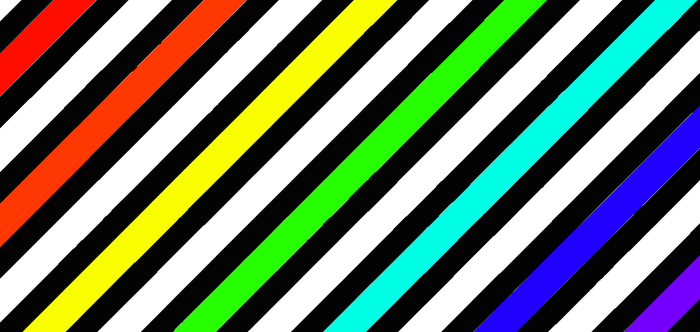Rainbow Stripes (Desktop Wallpaper) by RaiRaySUNSHINE
