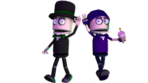 Brendan and Leo: The Best of Friends! by SpeedsterZ9000