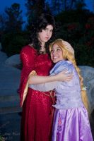 Gothel And Rapunzel - Before by Endymius