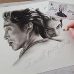 Glenn and Maggie wip by Zindy
