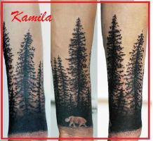 forest by kama-tattoo