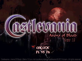 Castlevania - Arena Of Blood - Demo 1.0 by Py3rr