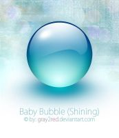 Baby Bubble - Shining by gray2red