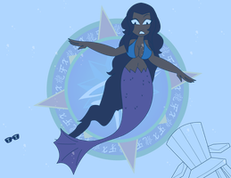 Chain Series - Raven Attacked - Under the Sea by Dragon-FangX