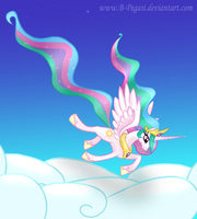 Peaceful Flight by B-Pegasi