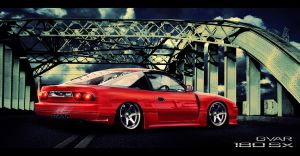 Nissan 180sx Virtual Tuning by SuperSprayer