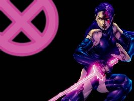 Psylocke Wallpaper YAY by sonicadventurer