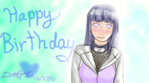 Happy Birthday Hinata by NaikoPako