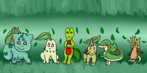Grass Starters by Hollyleaf18