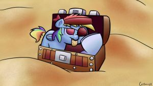 Dashie The Guard by Captain64