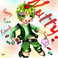 Nutty-Happy Tree Friends by AmieeSha96