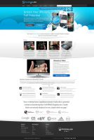 IphoneLox Web Design by vasiligfx