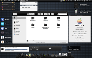Black Mac OS X by FURBY8704