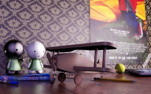 Toy Plane by masin