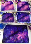 Watercolour Steps by CosmosKitty