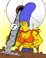 Marge and concrete by Ritualist