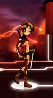 Code Lyoko - Ulrich sur Cortex Artwork by FearEffectInferno