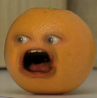 Annoying Orange : HOLY SHIT by B-o-S