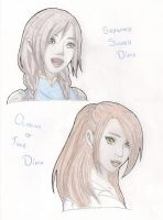 Dinias - SS and OoT by ALostBunny