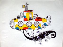 Yellow Submarine by eggay