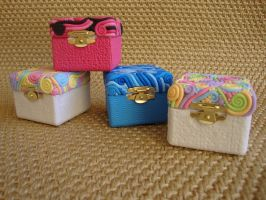Swirly boxes by Polymerchaos