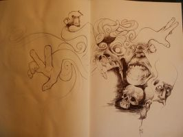 ballpoint madness by robiant