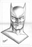 Batman Pencil drawing by JSimonART