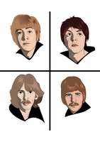 The Beatles by FoolEcho