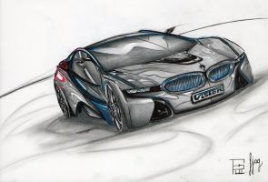 BMW vision concept by fjagcars