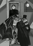 TLIID Hallowe'en special Batman and Caligari by Nick-Perks