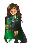 Hogwarts Butts: Mishie by ZLynn