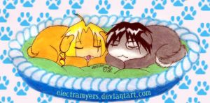 FMA Military Pupies by electramyers