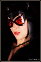 Catwoman portrait by Lili-cosplay
