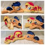 Flashimmer Beanie Couple by equinepalette