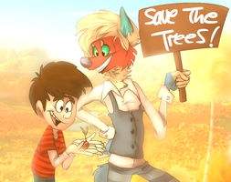 save da trees by Cup-o-Hannibal