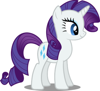 Vector #80 - Rarity #2 by DashieSparkle