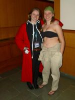 Edward and Winry from FMA at Setsucon2014 by ShizNat4EVER