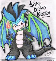 .:Spike Draco Koopa:. by Boltonartist