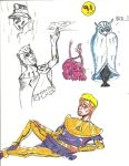 Generic Watchmen Sketch Dump of Doom by candlehat