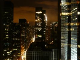 New-York by night by Parlamer