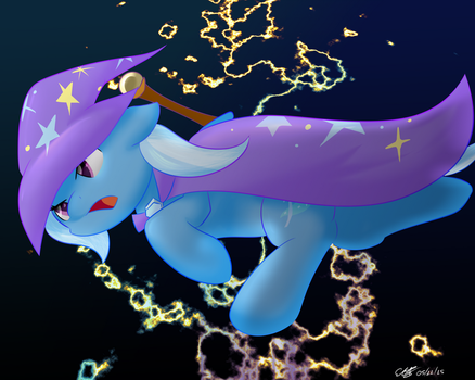 Trixie - Lightning Magic by extreme-sonic