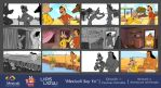 Mexicali Soy Yo - Storyboard and Final Frames E1 by j-arturo