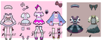 Outfit adoptables OPEN SET PRICE by Diana-AS