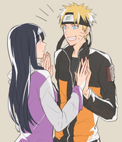 naruhina by warable