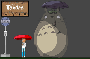 Totoro and me XD by Kexykarl