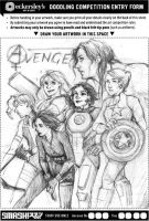:: more ladyvengers. i'm sorry. by hawberries