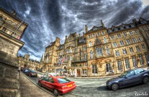 Oxford Randolph in HDR by renatello