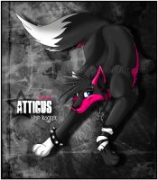 Atticus Pup Rocker by DarkHunter666